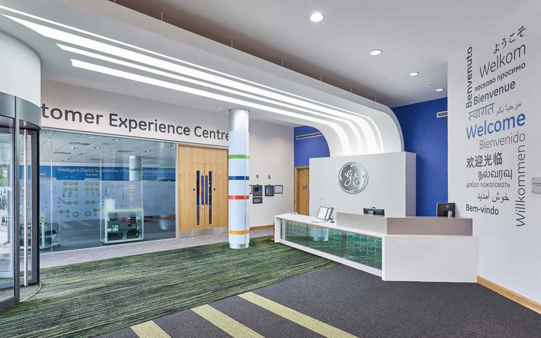 GE R&D Facilities, Interiors