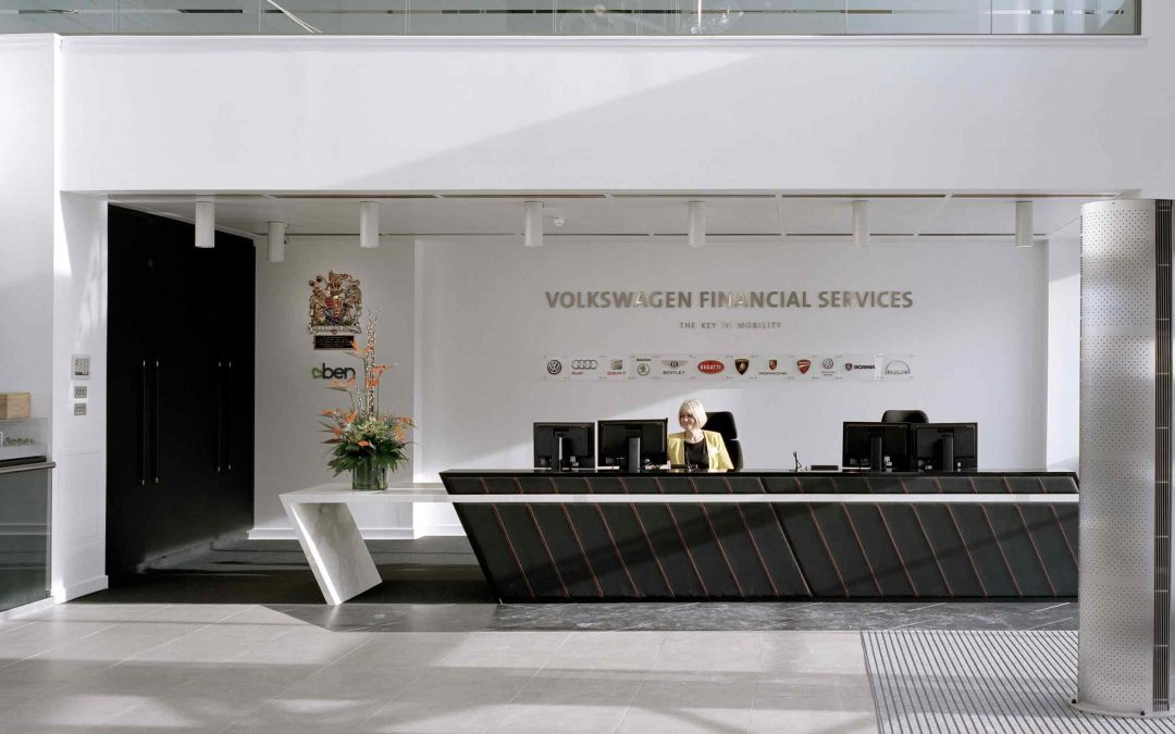 Volkswagen Financial Services Head Office Interior
